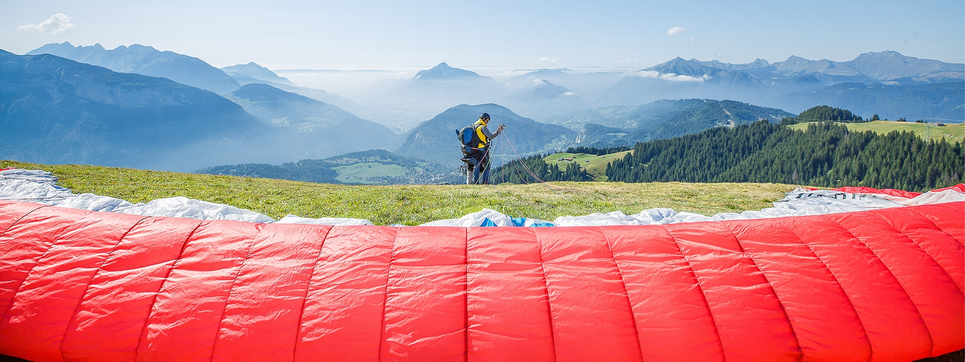 Paragliding & Helicopter