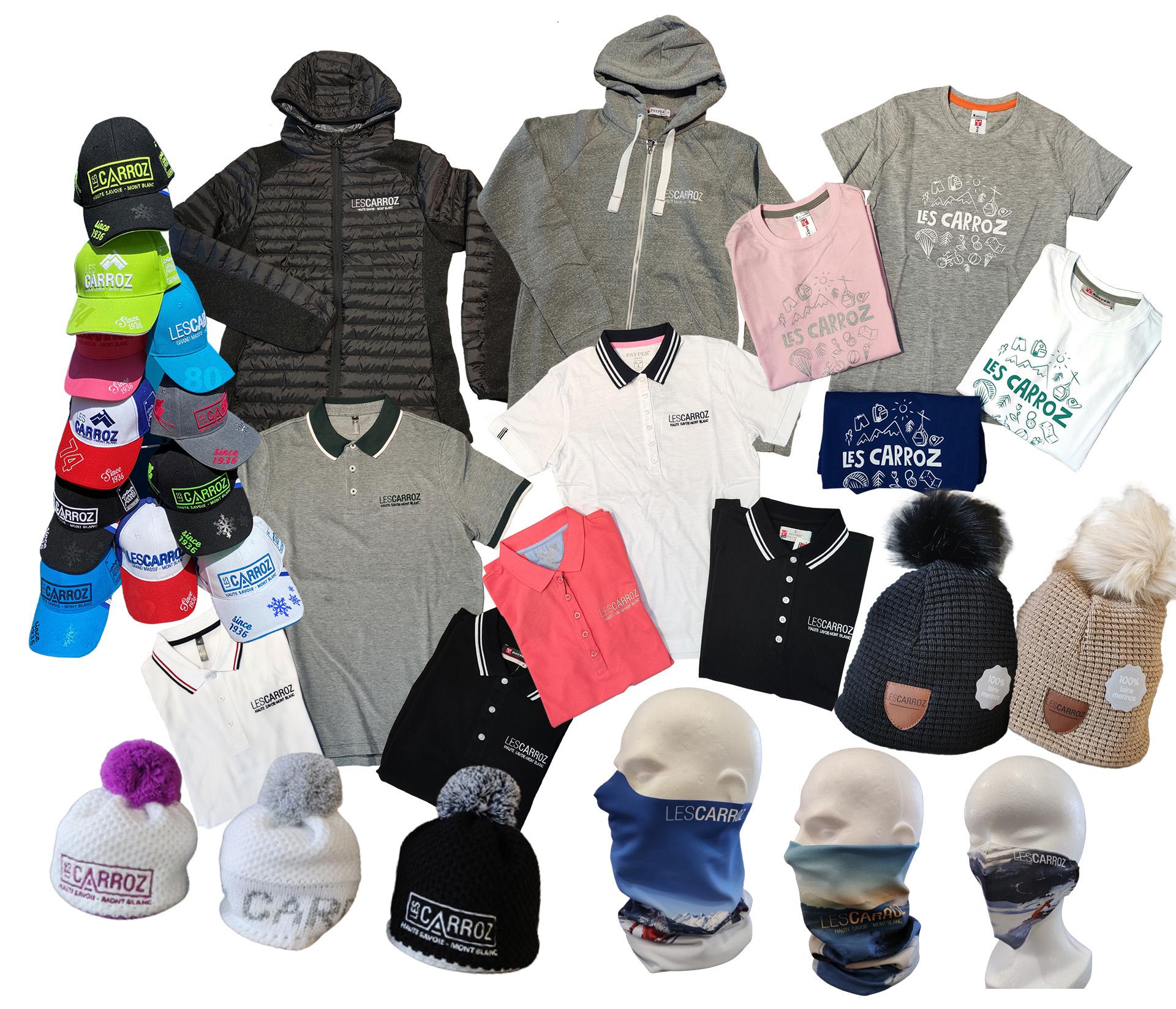 Textile boutique Les Carroz été:hiver